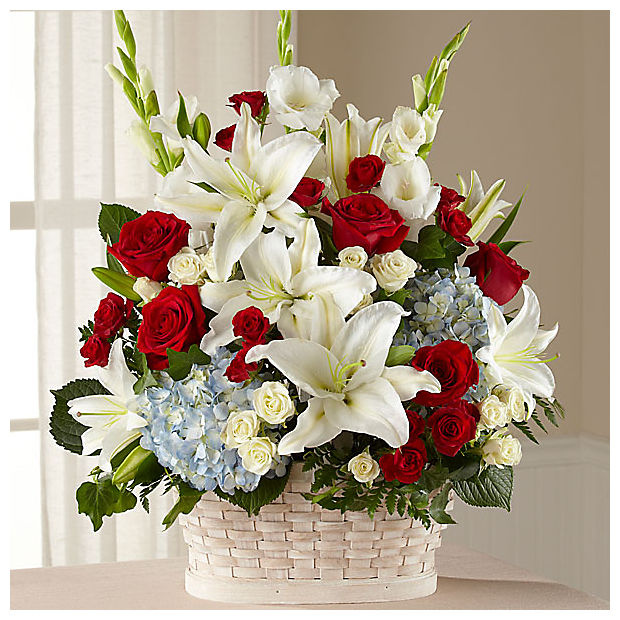 greater glory flower arrangement, funeral florist las vegas