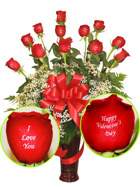 i love you roses, for, valentine's day, and, anniversary in las vegas, same day flower delivery