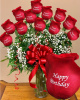 """Te Amo"" Personalized Roses"